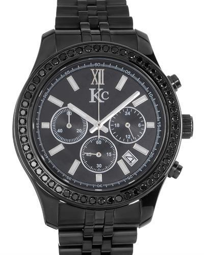 KC Brand New Quartz date Watch with 1.75ctw diamond