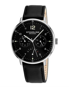 STUHRLING ORIGINAL 733.05 Monaco Brand New Japan Quartz day date Watch