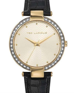 Ted Lapidus A0732PTPN Classic Brand New Quartz Watch with 0ctw crystal