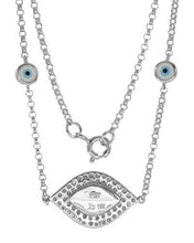 Load image into Gallery viewer, Brand New Necklace with 0.34ctw diamond  Multicolor Enamel and 14K White gold