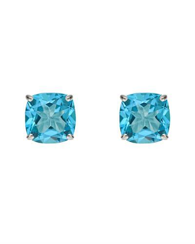 Brand New Earring with 3.6ctw topaz 925 Silver sterling silver