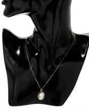Load image into Gallery viewer, Aucella Brand New Necklace with 0ctw cameo 14K Yellow gold
