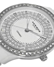 Load image into Gallery viewer, Akribos XXIV AK509WT Brand New Quartz Watch with 0ctw cubic zirconia