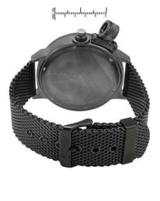 Load image into Gallery viewer, Adee Kaye ak7285-MIPB/MESH/BK Brand New Quartz date Watch
