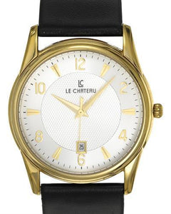 LC le Chateau LC-7077MGSV Brand New Japan Quartz date Watch