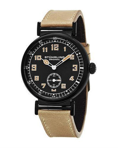 STUHRLING ORIGINAL 456.02 Aviator Brand New Japan Quartz Watch