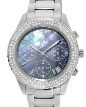 Load image into Gallery viewer, KC Brand New Japan Quartz date Watch with 0ctw mother of pearl