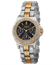 Load image into Gallery viewer, burgi BUR117TTG Brand New Quartz day date Watch with 0.01ctw diamond