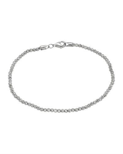 Golden Arc Jewelry Brand New Bracelet 14K White gold