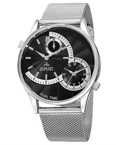 AUGUST Steiner AS8168SSB Brand New Quartz Watch