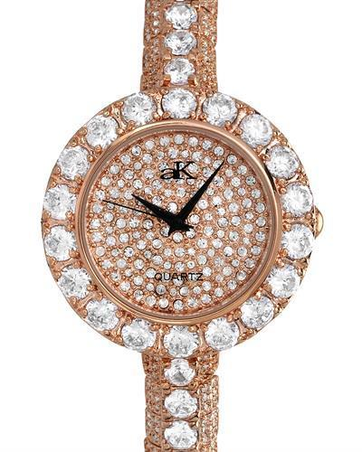 Adee Kaye ak9255-LRG Brand New Japan Quartz Watch with 0ctw crystal