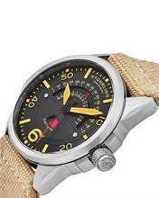 Load image into Gallery viewer, STUHRLING ORIGINAL 452.02 Aviator Brand New Japan Quartz day date Watch