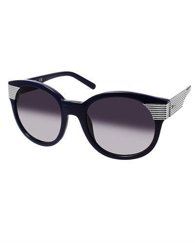 AQS BEX2003 Navy Blue Bex Brand New Sunglasses  Silver metal and  Navy blue plastic