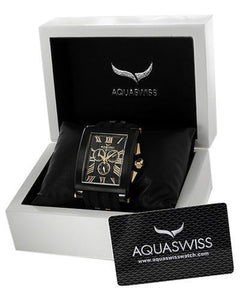 Aquaswiss 64XG005 Tanc XG Brand New Swiss Quartz day date Watch