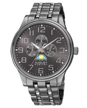 Load image into Gallery viewer, AUGUST Steiner AS8174BK Brand New Japan Quartz day date Watch