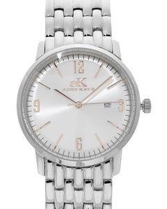 Adee Kaye AK8224-LWT Brand New Japan Quartz date Watch