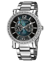 Load image into Gallery viewer, Akribos XXIV ak465SS Brand New Quartz day date Watch with 0ctw crystal