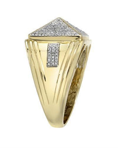 Brand New Ring with 0.52ctw diamond 10K Yellow gold