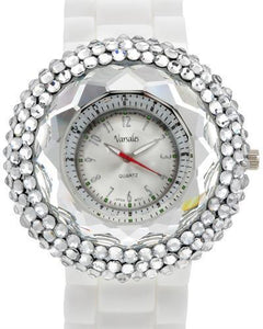 Varsales v4861-4 Brand New Quartz Watch with 0ctw crystal