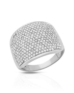 Brand New Ring with 1.5ctw diamond 10K White gold