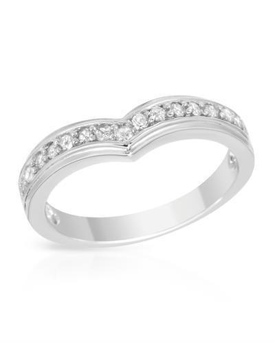 Brand New Ring with 0.25ctw diamond 925 Silver sterling silver
