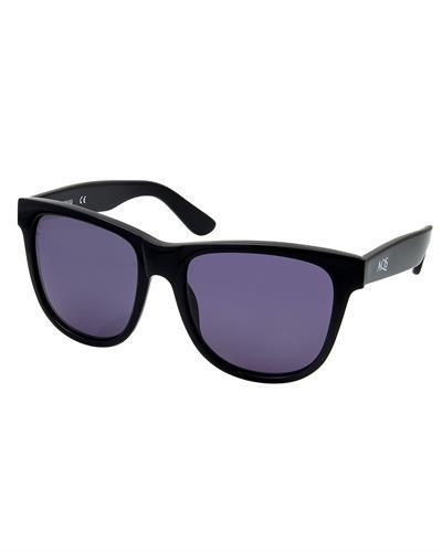 AQS OMI001 Black Omi Brand New Sunglasses  Black plastic