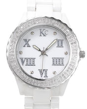 Load image into Gallery viewer, KC WA005232 Brand New Swiss Quartz Watch with 0.5ctw diamond