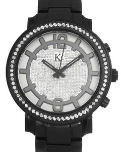 Techno Com by KC Brand New Japan Quartz multifunction Watch with 0ctw crystal