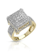 Load image into Gallery viewer, Brand New Ring with 1.56ctw diamond 10K Yellow gold