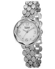 Load image into Gallery viewer, burgi BUR124SS Brand New Quartz Watch with 0ctw Swarovski Crystal