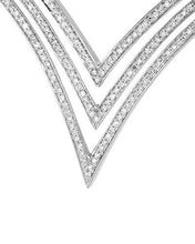 Load image into Gallery viewer, Lundstrom Brand New Pendant with 1.2ctw diamond 14K White gold