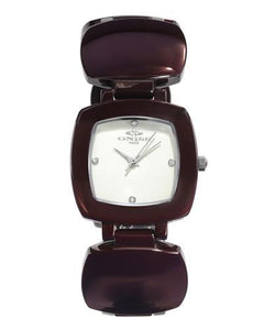 Oniss ON8050-L Paris Brand New Swiss Quartz Watch with 0ctw crystal