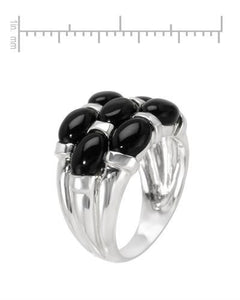 Brand New Ring with 0ctw onyx 925 Silver sterling silver