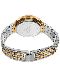 burgi BUR125 Brand New Quartz Watch with 0.04ctw of Precious Stones - crystal, diamond, and mother of pearl