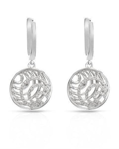 Brand New Earring with 0.22ctw diamond 14K White gold