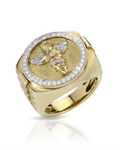 Brand New Ring with 0.46ctw diamond 10K Yellow gold