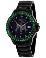 Load image into Gallery viewer, Jivago JV4217 Folie Brand New Swiss Quartz date Watch with 0ctw crystal