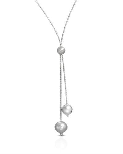 Millana Brand New Necklace with 0ctw pearl 925 Silver sterling silver