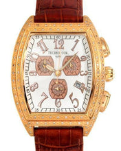 Load image into Gallery viewer, Techno Com by KC Brand New Quartz date Watch with 1.5ctw diamond