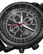 Load image into Gallery viewer, AUGUST Steiner AS8189BK Brand New Quartz day date Watch