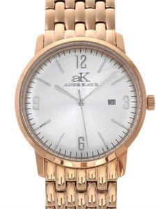 Adee Kaye AK8224-LRGWT Brand New Japan Quartz date Watch
