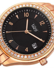 Load image into Gallery viewer, burgi BUR135RG Brand New Quartz date Watch with 0ctw crystal