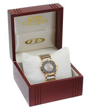Load image into Gallery viewer, Oniss ON1004-LRG/T PARIS Brand New Swiss Movement Watch with 0.07ctw diamond