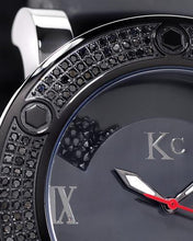 Load image into Gallery viewer, KC WA006330 Brand New Japan Quartz Watch with 1.25ctw of Precious Stones - crystal, diamond, and mother of pearl