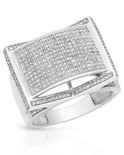 Load image into Gallery viewer, Lundstrom Brand New Ring with 1.15ctw diamond 10K White gold