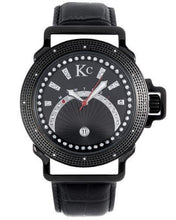Load image into Gallery viewer, KC WA008477 Brand New Japan Quartz day date Watch with 0.03ctw diamond
