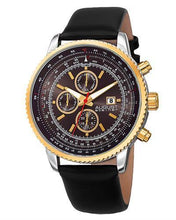 Load image into Gallery viewer, AUGUST Steiner AS8189YGB Brand New Quartz day date Watch