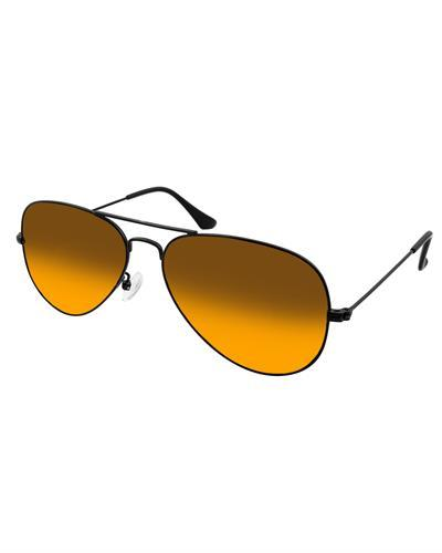 AQS OLV010 Brown Oliver Brand New Sunglasses  Black metal