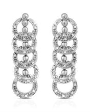 Load image into Gallery viewer, Lundstrom Brand New Earring with 0.5ctw diamond 10K White gold