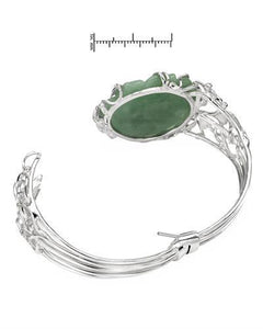 Brand New Bracelet with 0ctw jade 925 Silver sterling silver